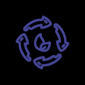 Circular Manufacturing Icon